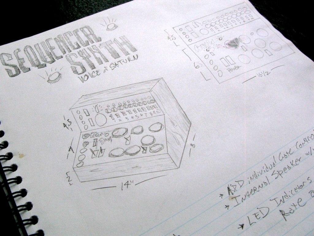 Sequencer Synth - concept sketch | the original concept sket… | Flickr