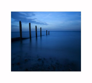 Blue Sentinels - Broughty Ferry Beach - Scotland