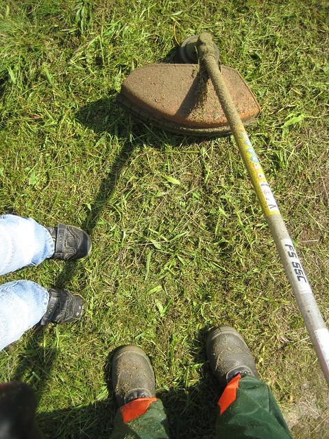 Mowing_Feet