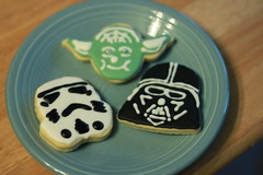 Star Wars Cookies for Moose's 5th Birthday
