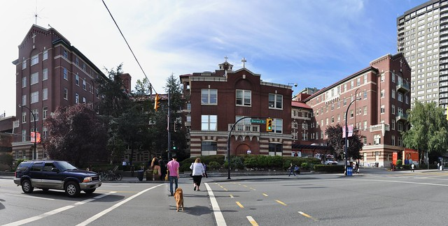 Vancouver - St Paul's Hospital pano 01
