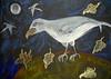 Le Corbeau d'Arcimboldo vu par la peintre Ileana Haber (2010) - 1
