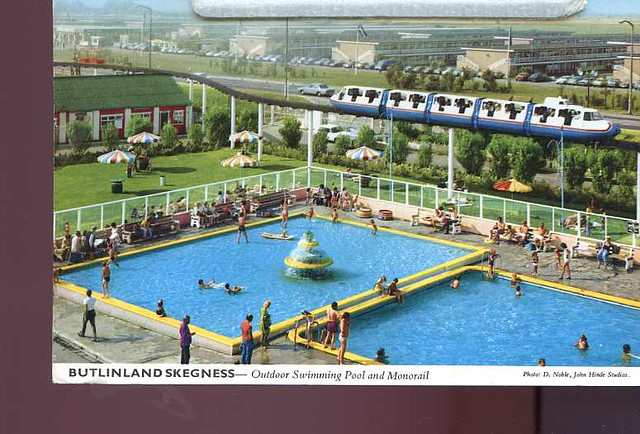 Lincolnshire Skegness Butlin 39 S Holiday Camp Swimming Pool Posted In 1977 Lin025 Flickr Photo