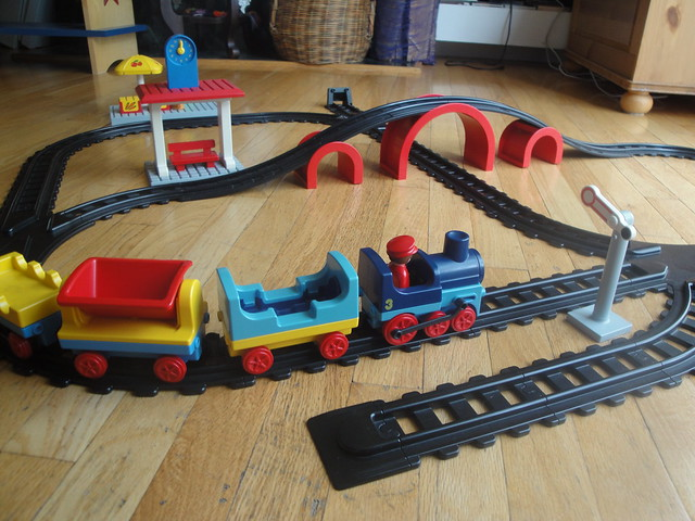 Playmobil 1 2 3 train set flickr photo sharing - Train playmobil ...