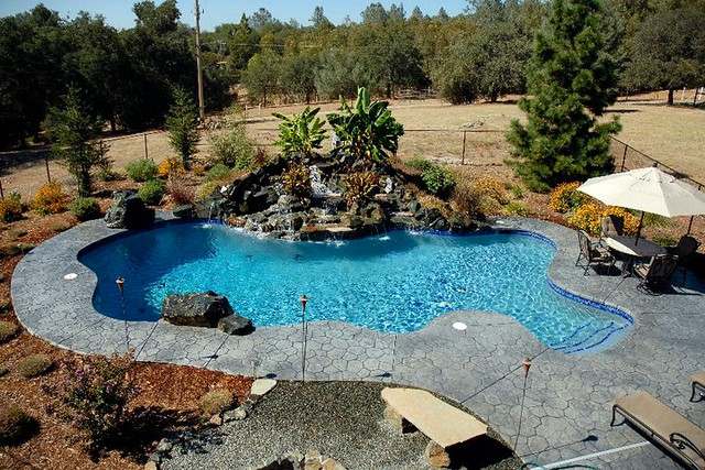Custom built inground pool flickr photo sharing for Built in pools