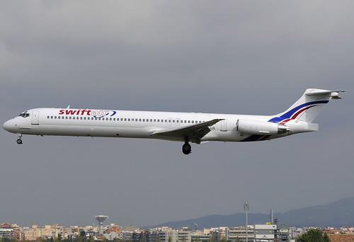 Swiftair MD-83 EC-JJS BCN 10/08/2010