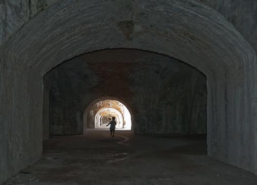 Interno del forte