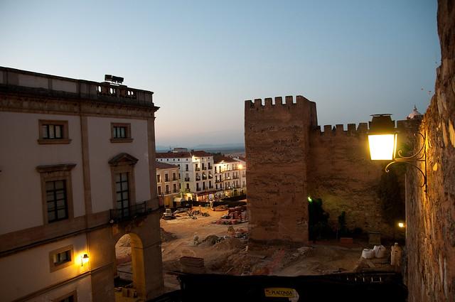 Plaza mayor (Cáceres)