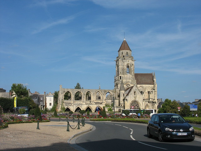 St-Etienne-le-Vieux Church in Caen, France