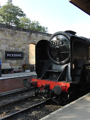 Pickering Town & Station-Yorkshire.