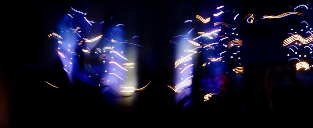 在演唱會內拍攝