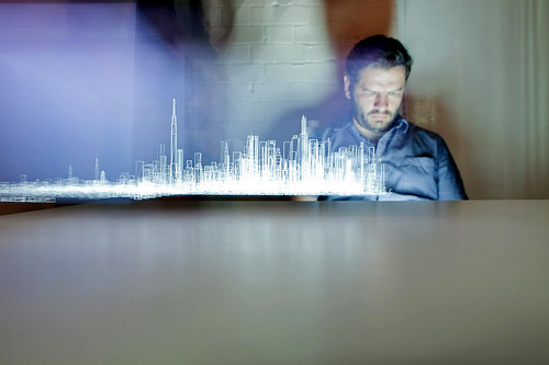 light painting the city with Matt Jones