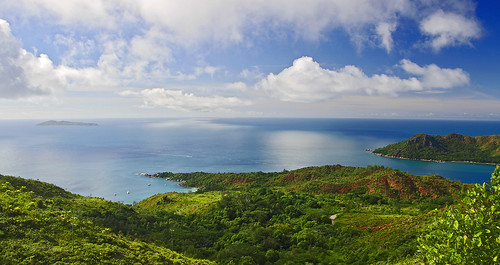 Des del cim de Praslin / From the top of Praslin