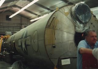 Enola Gay, Aft Fuselage restoration