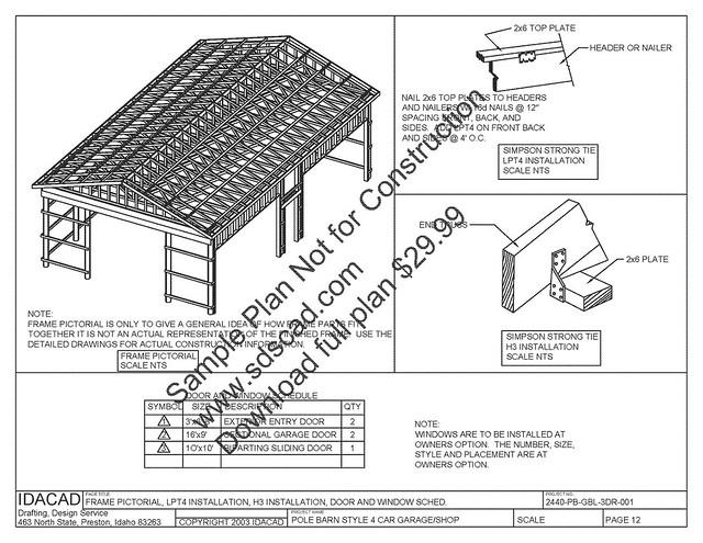 Detail Pole barn construction methods | halbc