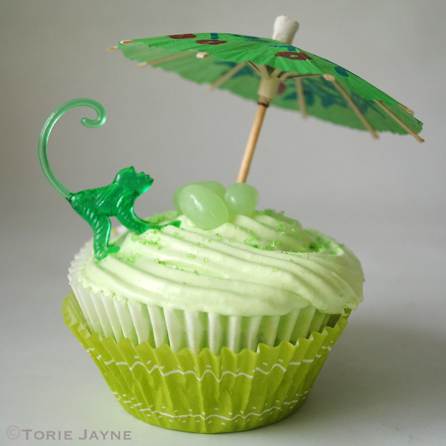 Gluten free Margarita Cupcakes
