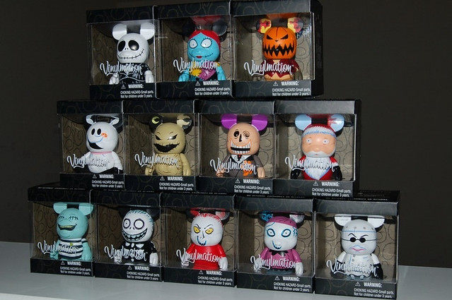 Nightmare Before Christmas Vinylmation Set