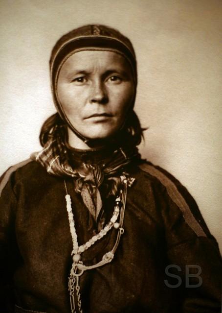 Ellis Island Sami woman