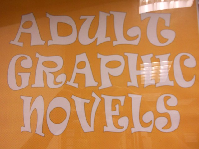 Adult Graphic Novels. When we realized how difficult (impossible) it was to ...