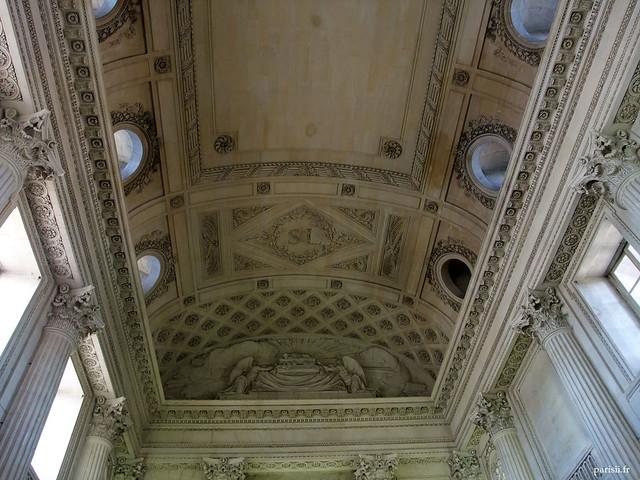 Au bout du champ de mars l ecole militaire le blog de paris - Plafond de la chapelle sixtine description ...