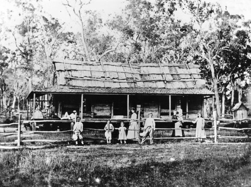 photographer queensland homesteads statelibraryofqueensland slq williamboag postrailfences