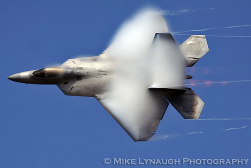 "F-22 Raptor - Major Dave ""Zeke"" Skalicky - NAS Oceana 2010 Air Show"