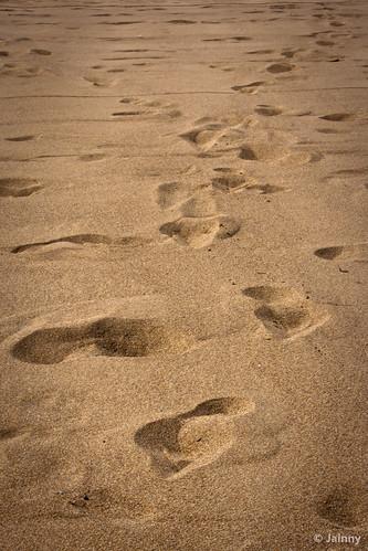 sea beach turkey sand footprints antalya views belek