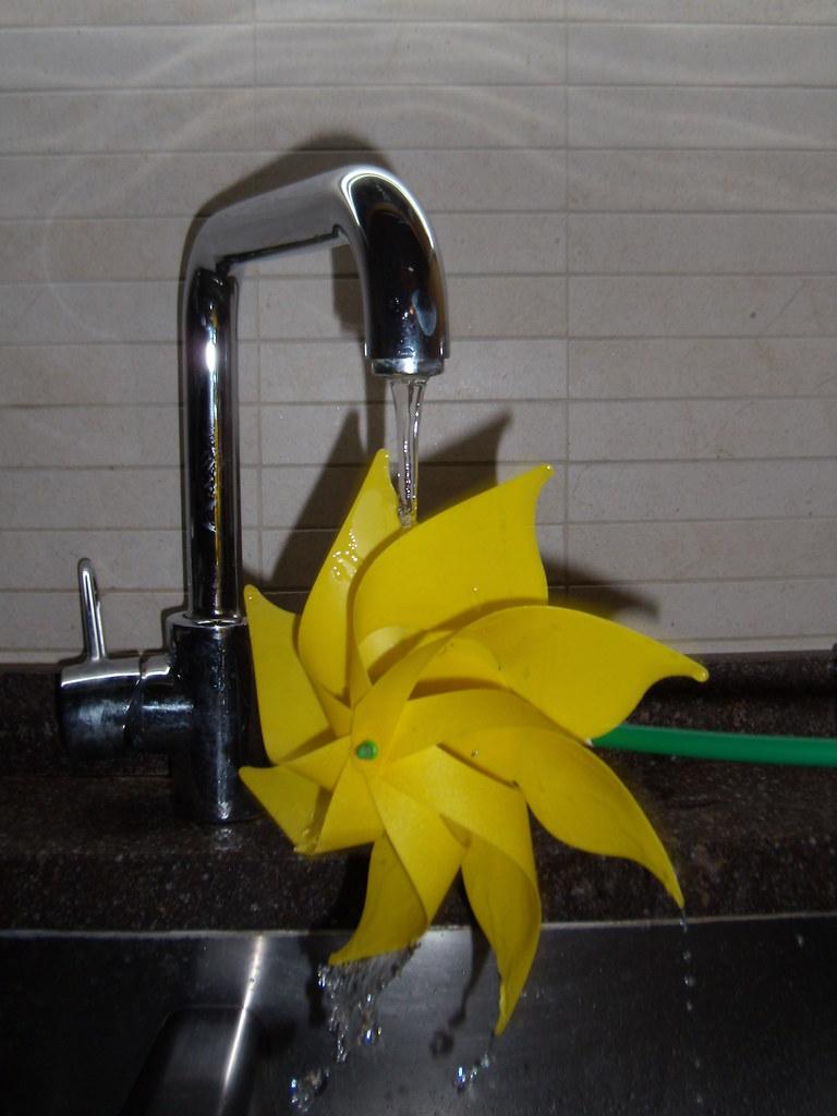 water pinwheel
