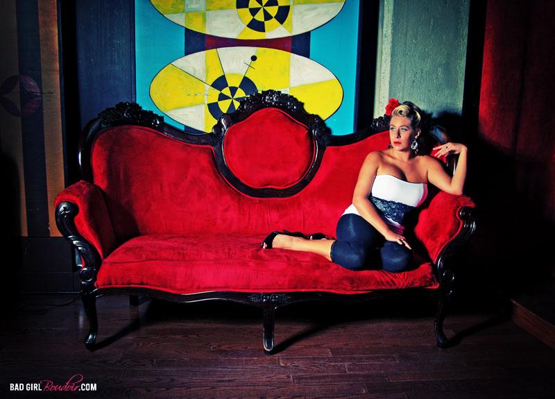 Jacksonville Pin-Up Photography // BAD GIRL Boudoir