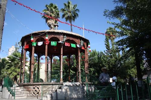 Plaza principal de Villanueva Zacatecas
