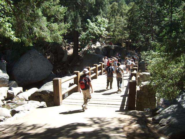 Vernal fall footbridge