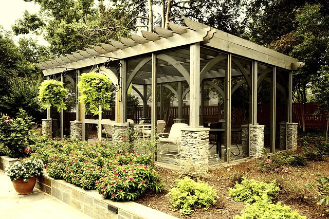 Screened Pergola - Frank Bowman Designs  Flickr - Photo Sharing!