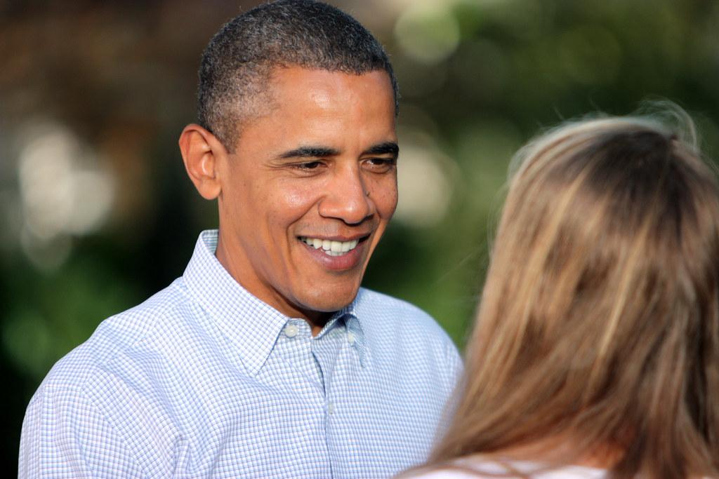 Obama's Backyard Chat 15