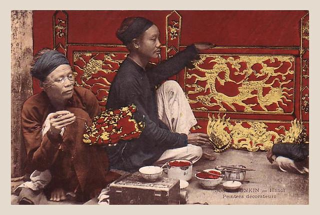 Hanoi - Peintres décorateurs