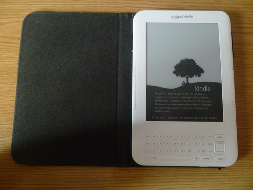 A Kindle allows you to browse, buy, download and read a wide range of material