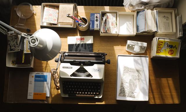 Astrid Lindgren´'s desk