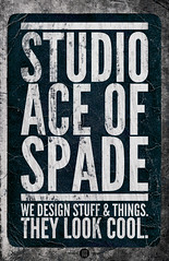 Studio Ace of Spade - Monthly poster series - September 2010 - Act II