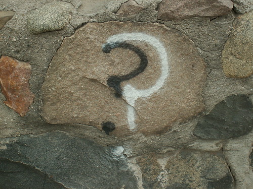 Found Words: Question Marks