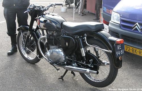 BSA A7 1954