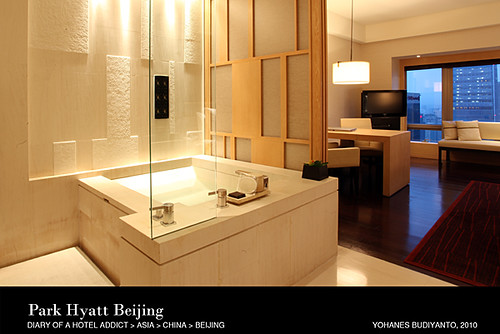 Park Hyatt Beijing: Bathroom