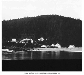 Baada Point on the Makah Indian reservation