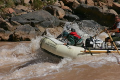 whitewater kayaking(0.0), vehicle(1.0), sports(1.0), rapid(1.0), river(1.0), recreation(1.0), outdoor recreation(1.0), boating(1.0), extreme sport(1.0), water sport(1.0), boat(1.0), raft(1.0), rafting(1.0),