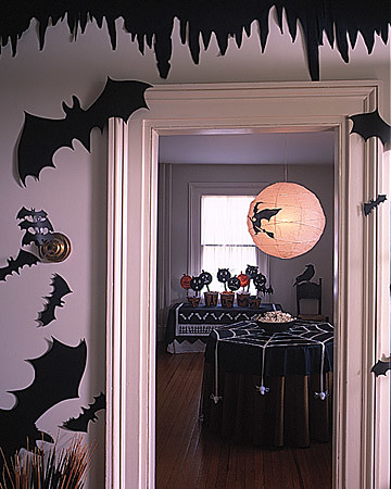Proper hunt halloween decorating ideas for the indoors - Martha stewart decoracion ...