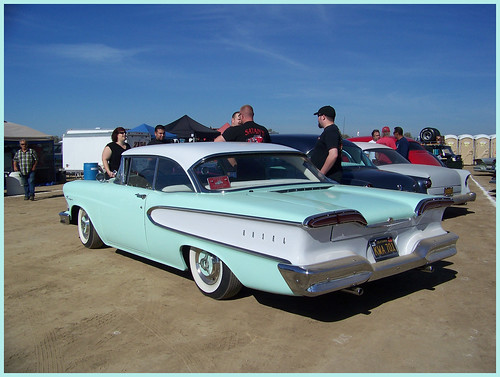 1958 Edsel Ranger  (  Sea Foam  Green  )  and  ( White  )