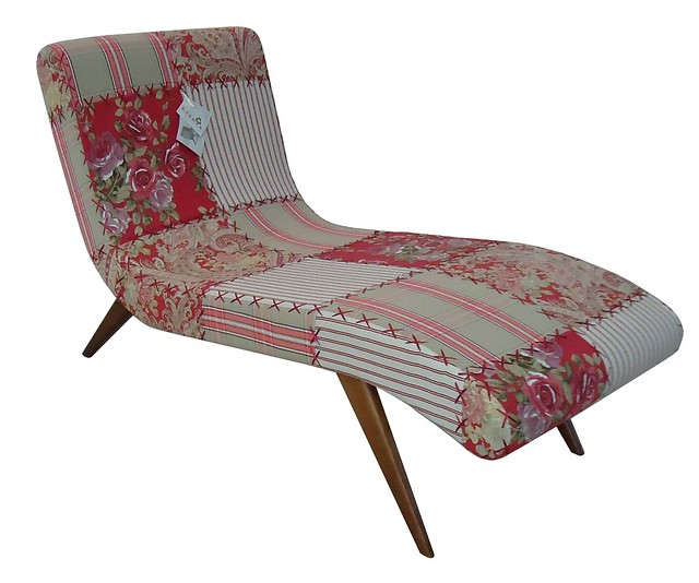 Chaise long arezzo patchwork vermelha 101011b flickr - Chaise anders patchwork ...