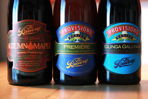 New Releases from The Bruery