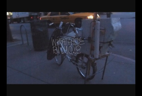 Wheatpaste Bicycle Demo Vid