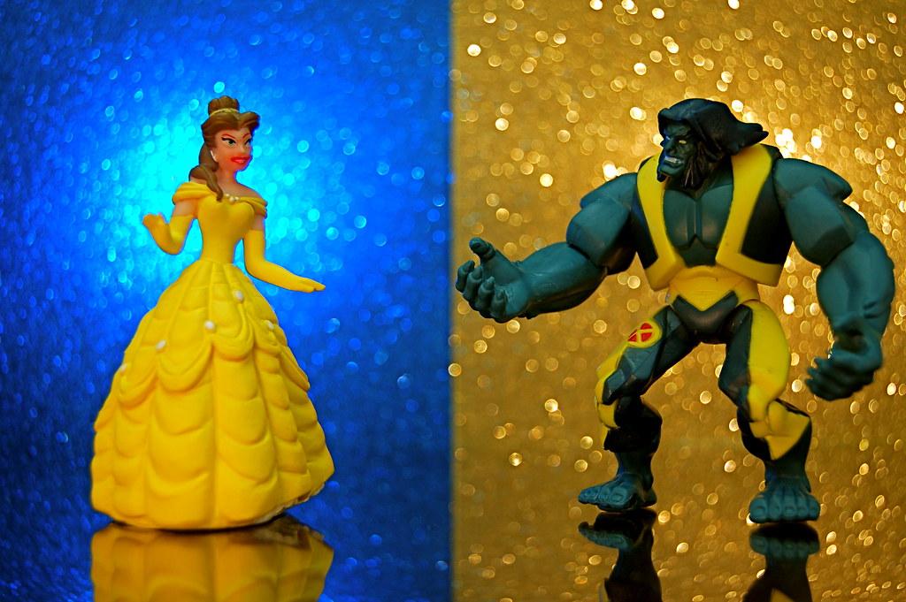 Belle vs. Beast (287/365)
