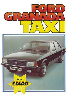 1980 MK2/1 Ford Granada Taxi Diesel / FA 407