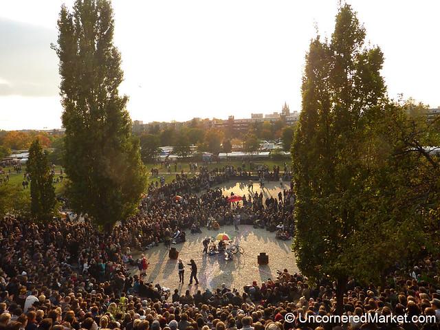 Sunday Karaoke in Mauerpark - Berlin, Germany